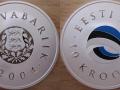ESTONIE 10 KROONI 2004 - DRAPEAU DU PAYS