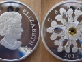 CANADA 20 DOLLARS 2011 - FLOCON DE NEIGE TOPAZE
