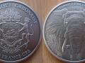 GABON 2000 FRANCS CFA 2012 - ELEPHANT