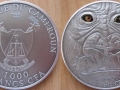 CAMEROUN 1000 FRANCS CFA 2012 - GORILLE ADULTE