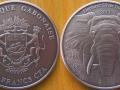 GABON 1000 FRANCS CFA 2012 - ELEPHANT