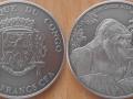 CONGO 1000 FRANCS CFA 2014 - GORILLE