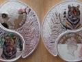 FIDJI 2 x 1 DOLLAR 2010 - ANNEE DU TIGRE